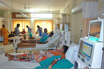 Dialysis unit - Kirpal Charitable Hospital