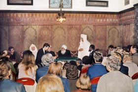 Sant Kirpal Singh gave a talk at the famous Mosque at Paris
