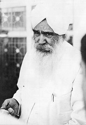 Sant Kirpal Singh during the Punjab Tour, October 1973