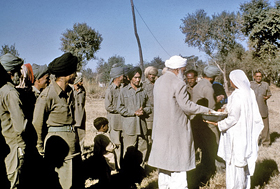 Sant Kirpal Singh during the Punjab Tour, 1973